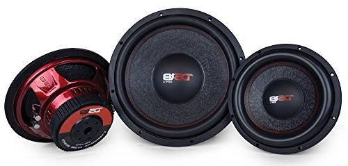 DS18 Subwoofer in. Cone, Dual Ohm Impedance, 1000W Power for Vehicle Stereo System