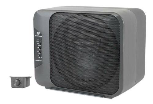 """Rockville Ground Pounder 800w Powered Dual 10"""" Car Subwoofer"""