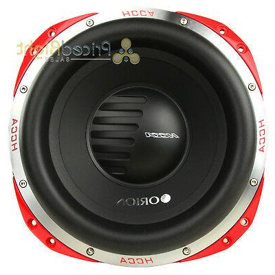 Orion HCCA124 5000 Watt Dual 4 Ohm Voice Coil Competition