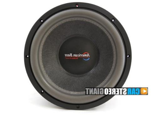 American Bass 15 Inch Subwoofer Hd Series Dual 1 Ohm Carbon