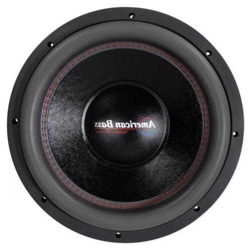 "American Bass HD12D2 12"" 3000w Subwoofer 300Oz VC"