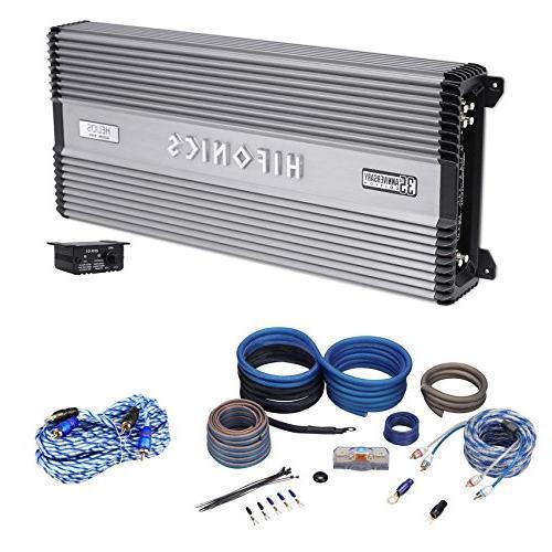 Hifonics Helios 2400 Watt 4-Channel 2-Ohm Car Stereo Amplifier Class A//B Amp