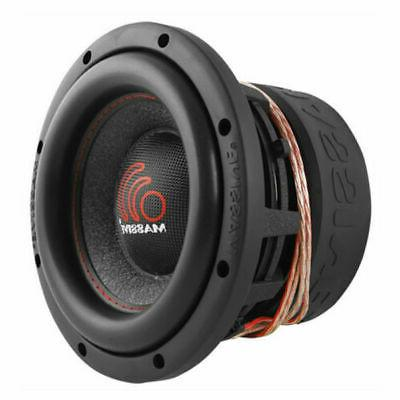 "Massive Audio HIPPO84 1000 W Max 8"" Dual 4 Ohm DVC Car Stere"