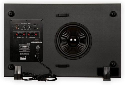 "Home Surround Sound Slim 4.75""Powered Active"
