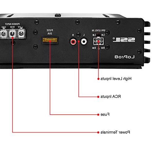 Car - Profile, 8 Subwoofer, Remote For Vehicles That Need Bass But Space