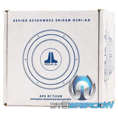 JL AUDIO M8IB5-SG-WH WHITE SUB SUBWOOFER BOAT SPEAKER NEW