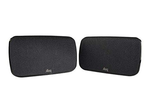 Polk Audio SR Home Theater Surround Sound -Maximum Home Subwoofer Two Speakers Included