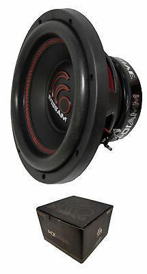 Massive Audio MMA104 MMA Series. 10 Inch, 1000 Watt, Dual 4