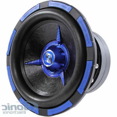 mofo102x woofer dual voice coils