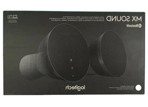 Logitech MX Sound 2.0 Multi Device Stereo Speakers with prem