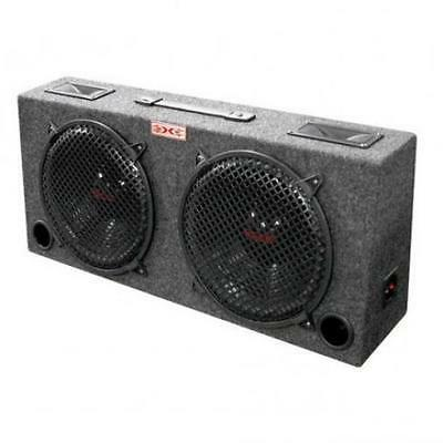 "NEW Dual 10/"" FullRange Car Audio Stereo Speaker System.ATV.JEEP.woofers.box"