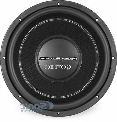 """NEW Acoustik GW3-12 1200W 12"""" Dual 2 Power Audio Subwoofer"""