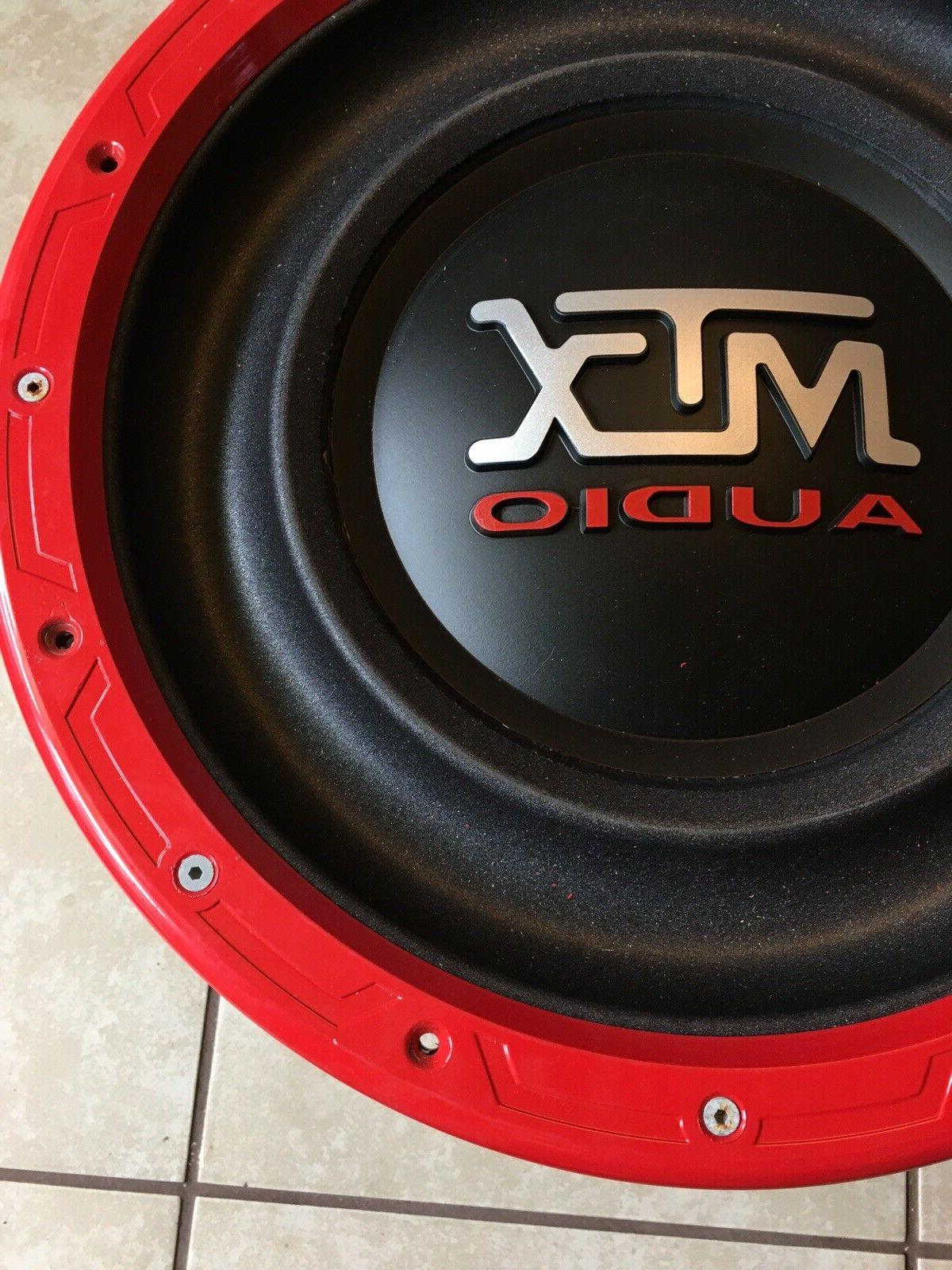 New Inch MTX RFL Subwoofer 4000W Cone Kit