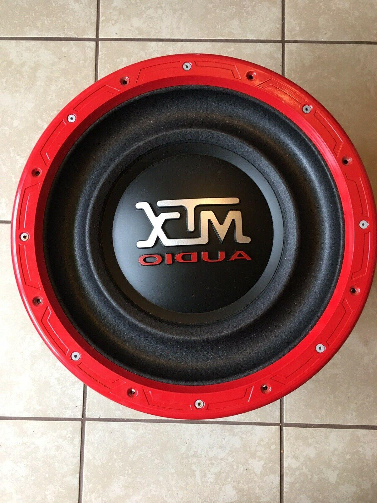 Inch MTX Subwoofer 4000W W/ Cone Kit