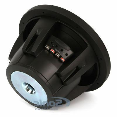 "NEW! Alpine Type-R SWR-12D4 3000 12"" inch Dual 4ohm Subwoofer"