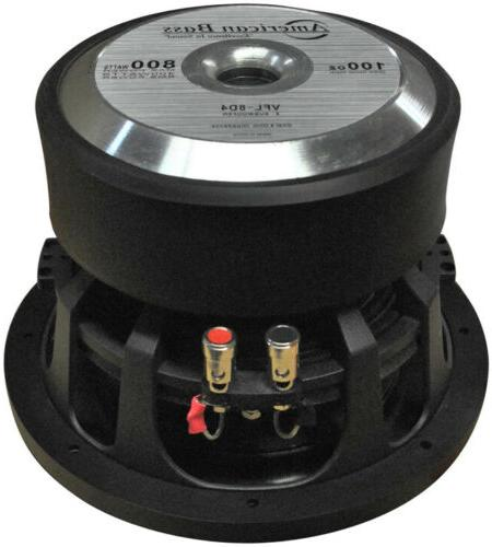 """NEW VFL8D4 American 8"""" Competition max 4 DVC"""
