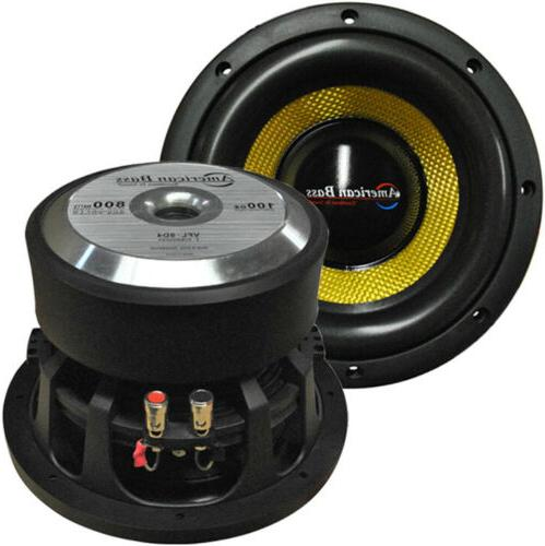 new vfl8d4 8 competition woofer 800w max