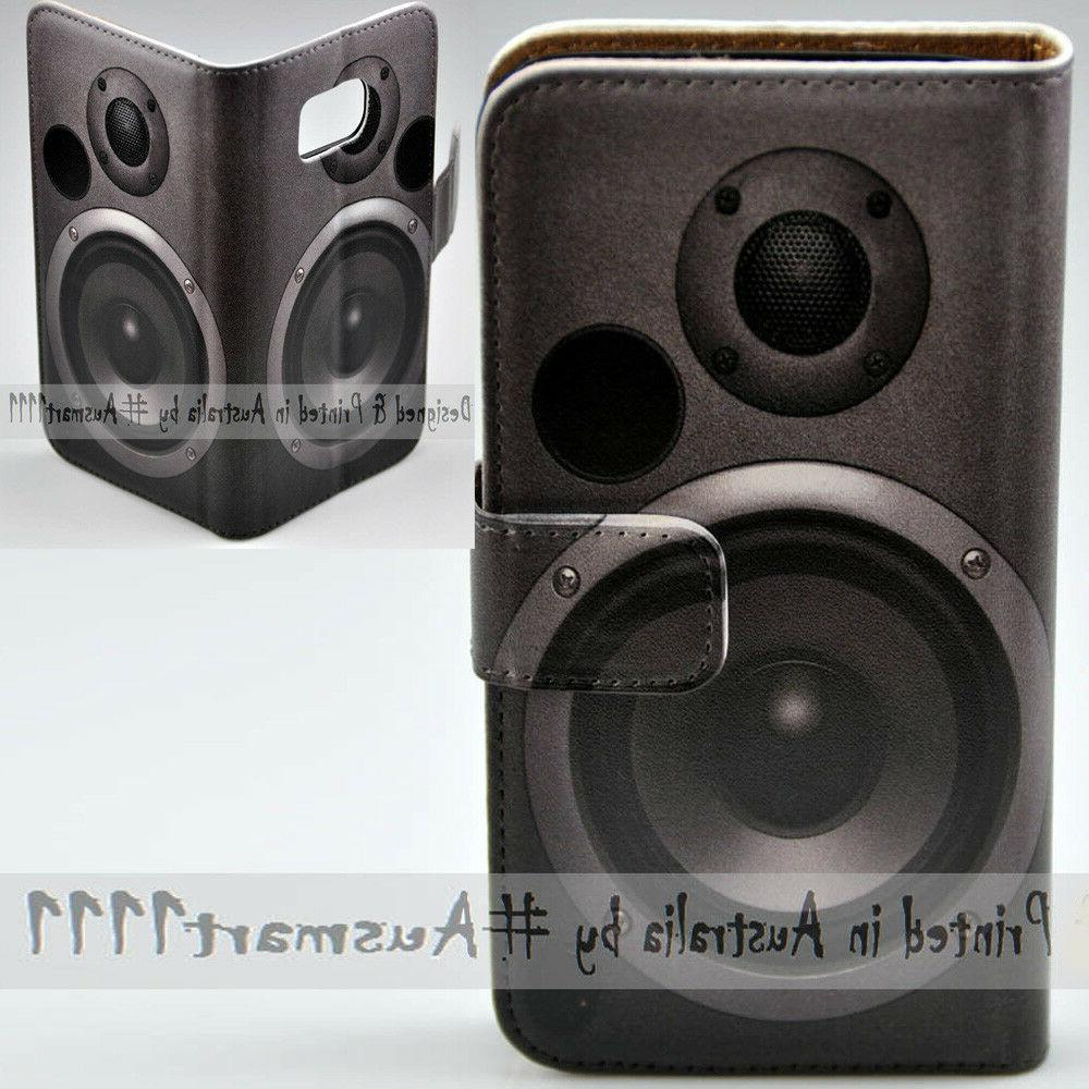 oppo series subwoofer print flip case