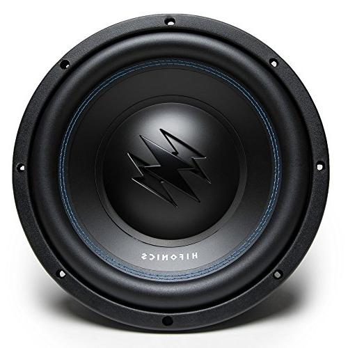 "1600W PAIR  Hifonics TW10D4 10"" Dual 4 Ohm Car Audio Subwoof"