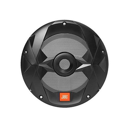 """JBL Gauge AM FM Receiver - 4 LED Speakers 4 LED Speakers - 2 10"""" LED Subwoofers - Amps Subwoofer Amp Bundle"""