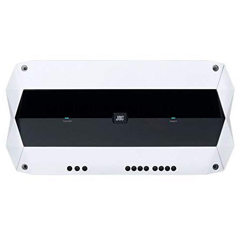 """JBL Gauge Style AM Receiver 4 LED 8"""" Speakers 4 LED - Subwoofers 4-Channel Amps Amp Bundle"""