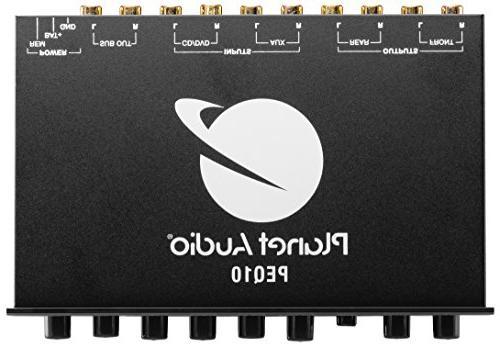 Planet Audio Half-DIN, Car Equalizer, with Adjustable bands