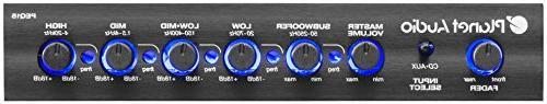 Planet Audio Half-DIN, Band Car Equalizer, Subwoofer Output