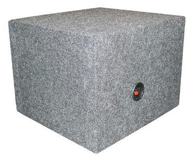QPower Vented Slot Ported Subwoofer Sub