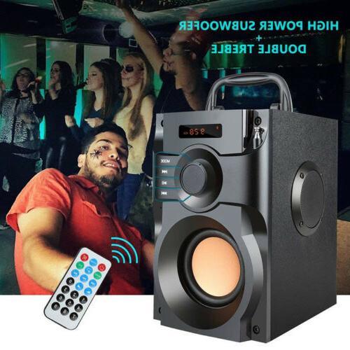 portable bluetooth speaker 10w subwoofer heavy bass