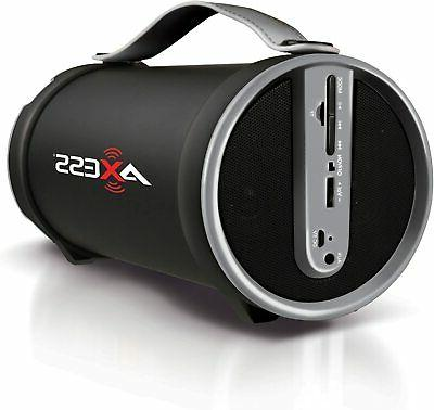 portable bluetooth wireless speaker with subwoofer