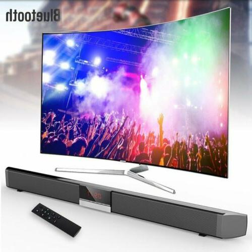 3D Surround TV Soundbar Sound Bar System Speaker Wireless Bu