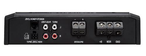 Rockford Fosgate Prime R500X1D 500 Car D Amplifier+Amp Kit