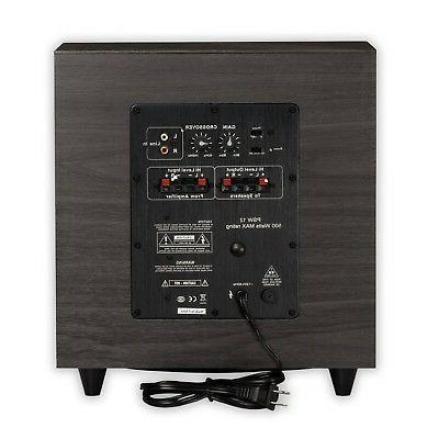 Acoustic Audio Watt 12 Subwoofer Home Theater - 24 Hz