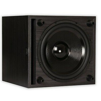 Acoustic 500 Watt Powered Subwoofer Home Sub - 24 - Hz