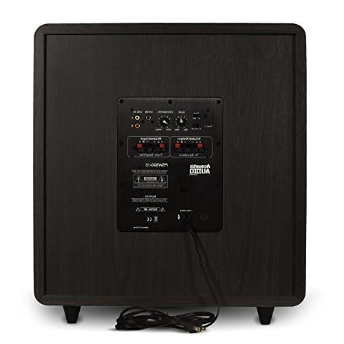 Acoustic Audio Theater Subwoofer Firing Sub