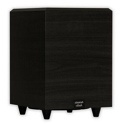 Acoustic Audio PSW8 Home Theater Subwoofer Black