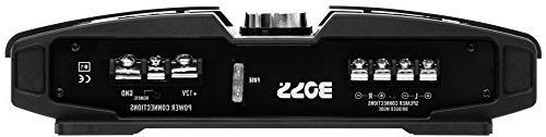 BOSS Audio 1000 2/4 A/B, Range, Bridgeable, MOSFET Amplifier Remote Subwoofer
