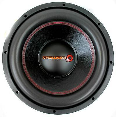 """QPower - 12"""" Super Deluxe Series 3000W 4 Ohm DVC Subwoofer"""
