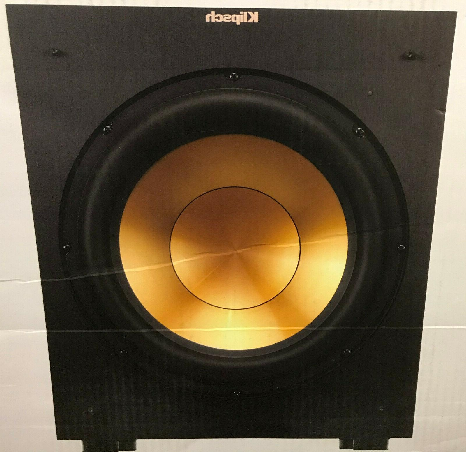 Klipsch R-12SW Reference Powered Subwoofer 400 WATTS NEW Sea