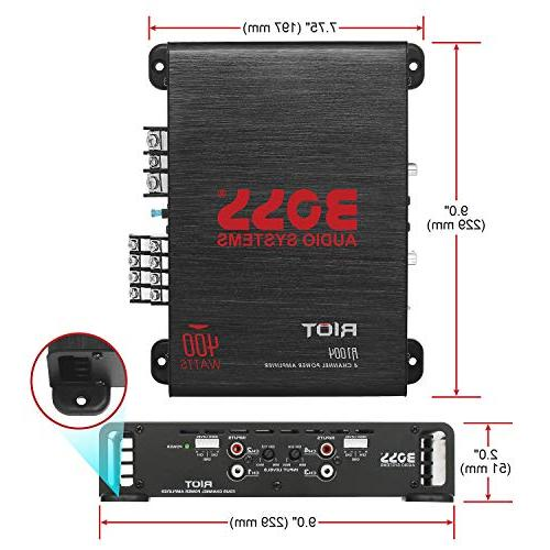 BOSS Elite 4 Ohm Great For Car Car Stereo