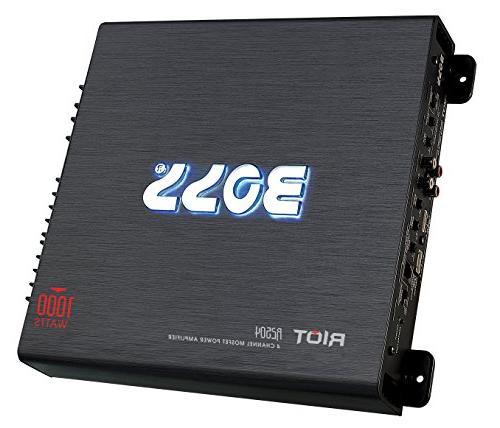 BOSS Riot 1000 Watt, Channel, Class A/B, Bridgeable, Car Amplifier