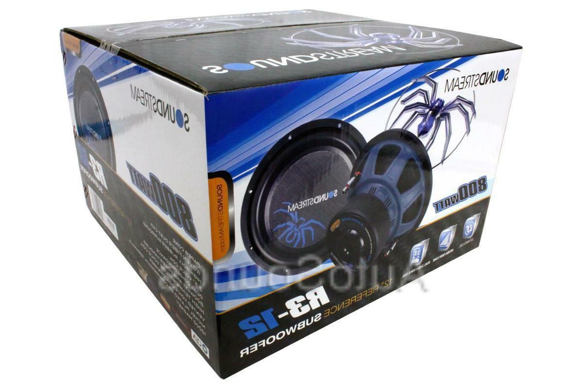 Soundstream R3 800 Watt Subwoofer