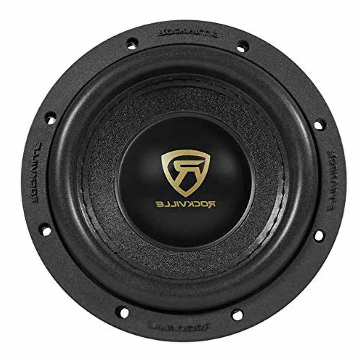 """Rockville 6.5"""" 1000w Car Dual 4-Ohm Sub CEA"""