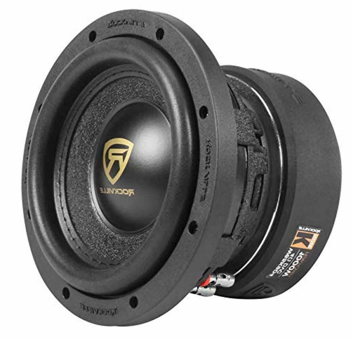 rockville w65k9d4 6 5 1000w car audio