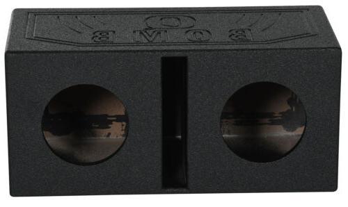 rqb8 dual 8 vented subwoofer sub box