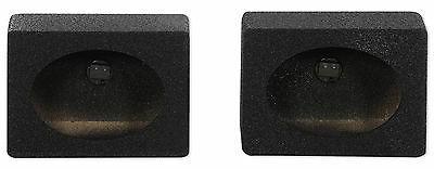 "Rockville RS6x9BL 6x9"" Wedge Sealed Car Speaker Box Enclosu"
