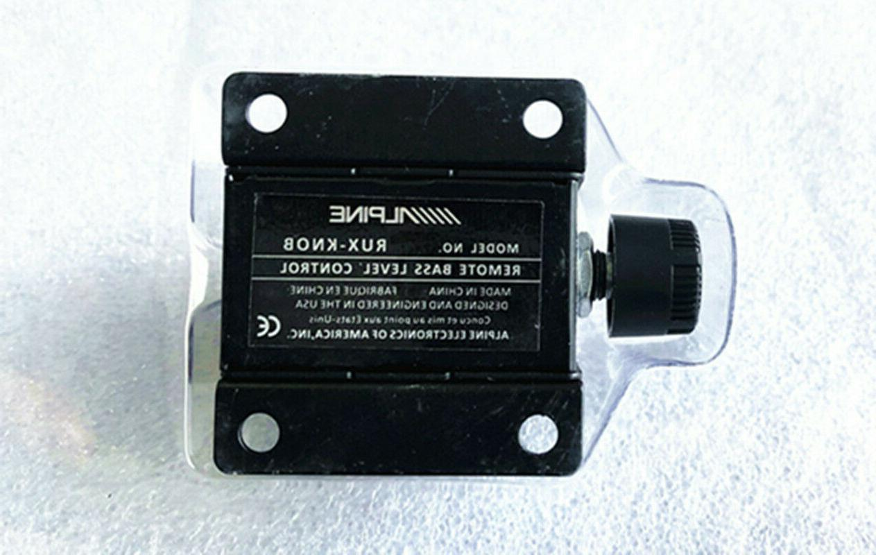 Alpine RUX knob remote control subwoofer amplifier control b