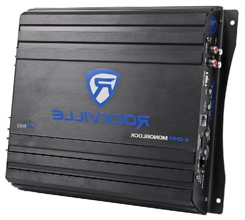 "Rockville RV10.2A 10"" Subwoofer Amplifier+Amp Kit"