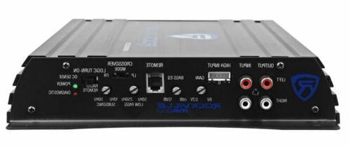 """Rockville RV12.2B 1200w 12"""" Car Subwoofer Enclosure+Mono Amplifier+Amp Kit"""