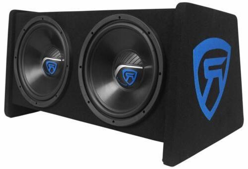 """Rockville 12"""" Car Subwoofer Amplifier+Amp"""